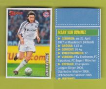 Bayern Munich Mark Van Bommel Holland (S06-07)